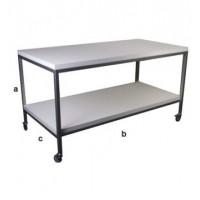 Salgsbord i 120 cm bredde og med 1 hylde
